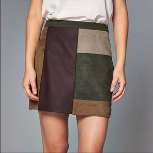 Abercrombie Patch Skirt